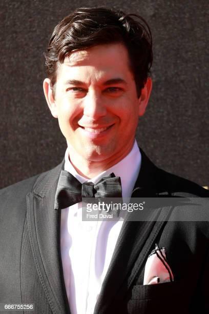 Adam Garcia attenda The Olivier Awards 2017 at Royal Albert Hall on April 9 2017 in London England