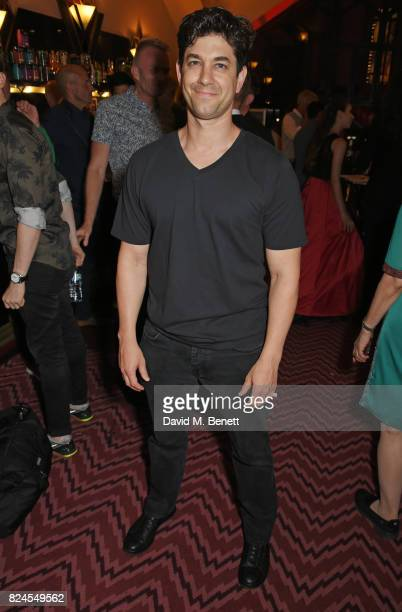 Adam Garcia attends a drinks reception celebrating 'Gala For Grenfell' a special gala bringing together a host of the world's leading dancers to...
