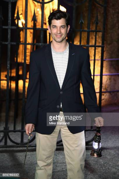 Adam Garcia attends the exclusive launch event for the Forbidden Forest a new expansion at Warner Bros Studio Tour London The Making of Harry Potter...