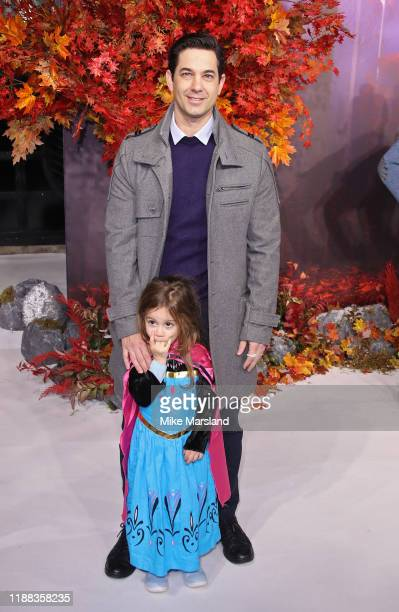 Adam Garcia attends the Frozen 2 European premiere at BFI Southbank on November 17 2019 in London England