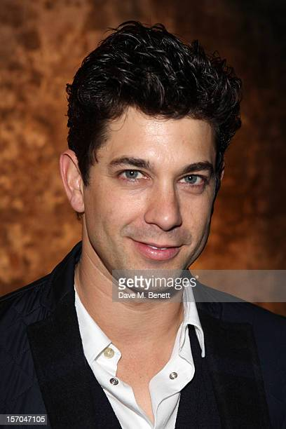 Adam Garcia attends the Kiss Me Kate after party at Old Vic Tunnels on November 27 2012 in London England