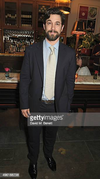 Adam Garcia attends the press night after party for 'The Winter's Tale' by the Kenneth Branagh Theatre Company at The National Cafe on November 7...