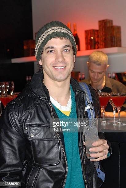 Adam Garcia during Donna Karan Celebrates the Launch of Her New Fragrance 'Gold' at Donna Karen Store in London Great Britain