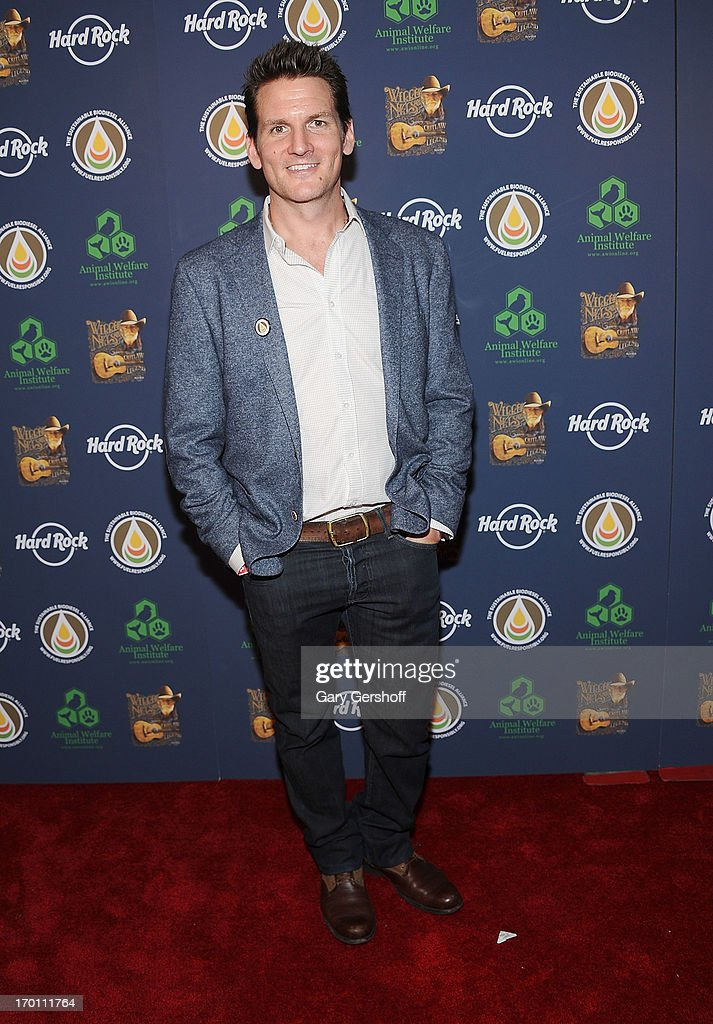 Adam Gardner attends the Hard Rock International's Wille Nelson Artist Spotlight Benefit Concert at Hard Rock Cafe, Times Square on June 6, 2013 in New York City.