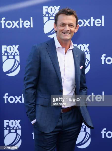Adam Gilchrist attends the Fox Cricket Launch at Hordern Pavilion on October 9 2018 in Sydney Australia