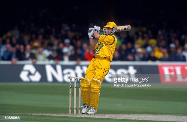 Adam Gilchrist batting Cricket World Cup 1999 Australia v Pakistan at Lord's
