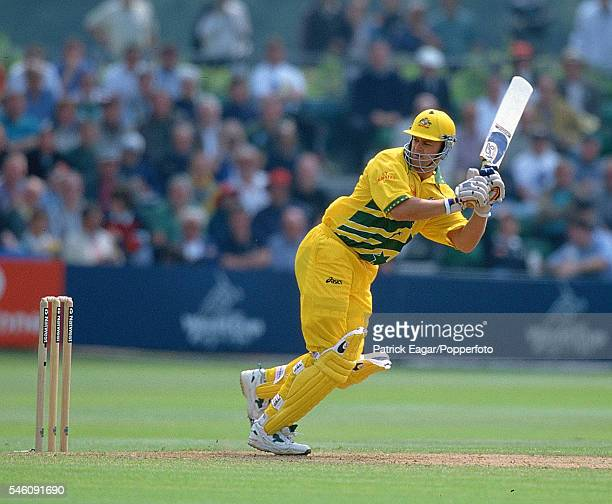 Adam Gilchrist of Australia batting during the ICC World Cup 13th June 1999