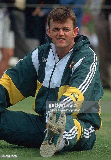 Adam Gilchrist of Australia during the 1997 tour of England 15th May 1997