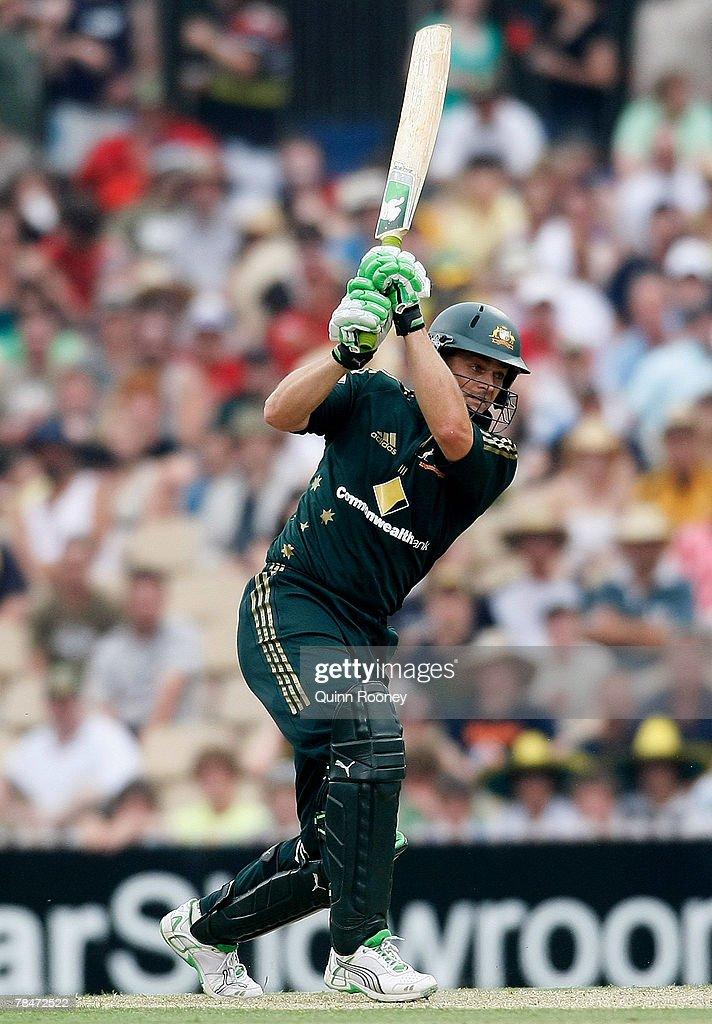 Australia v New Zealand - Chappell-Hadlee Trophy: 1st ODI : ニュース写真