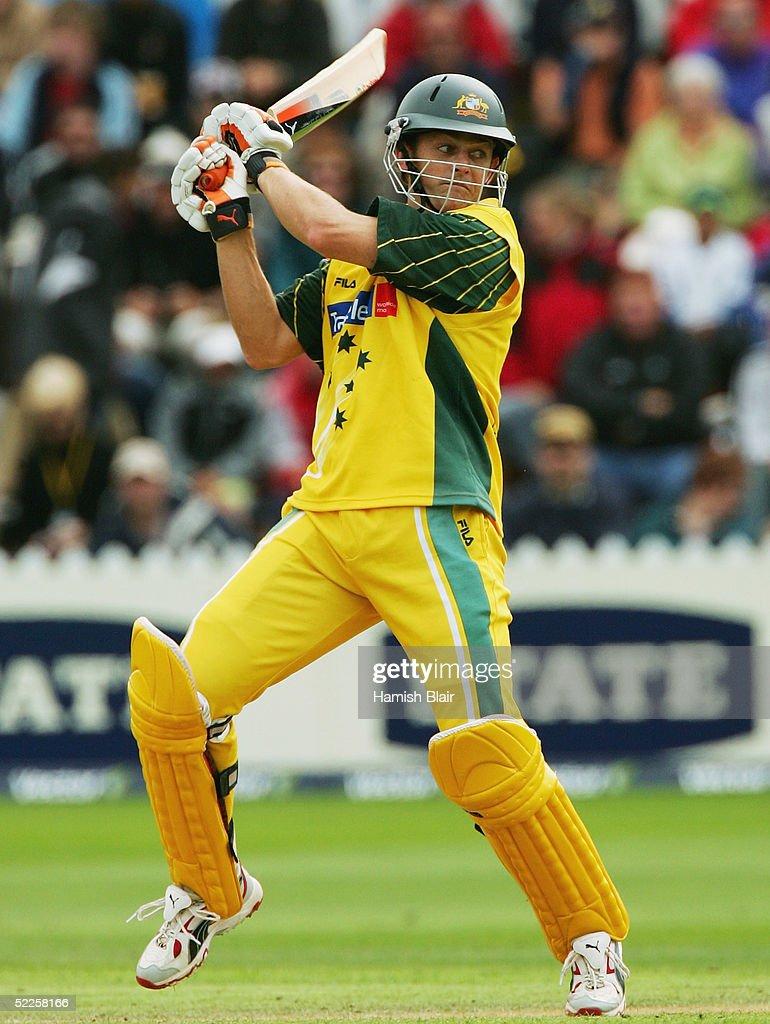 Cricket - 4th ODI - New Zealand v Australia : ニュース写真