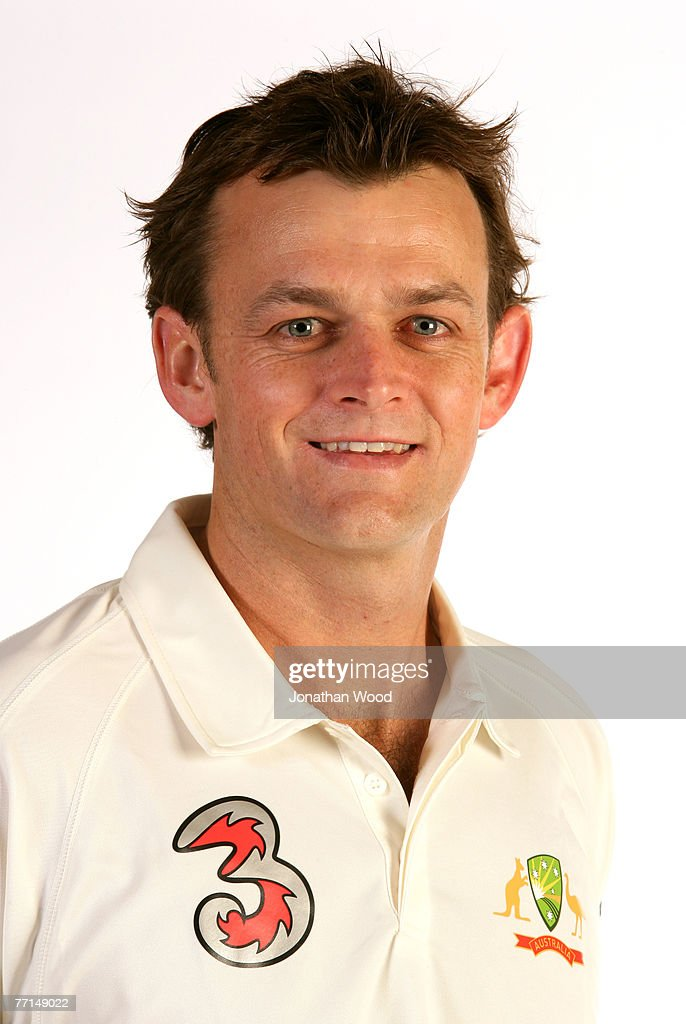 Adam Gilchrist Of Australia Poses During The Australian