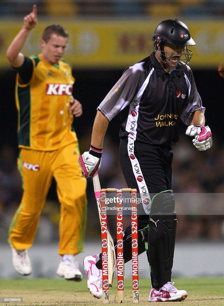 Twenty20 - Australia v ACA All*Stars : ニュース写真