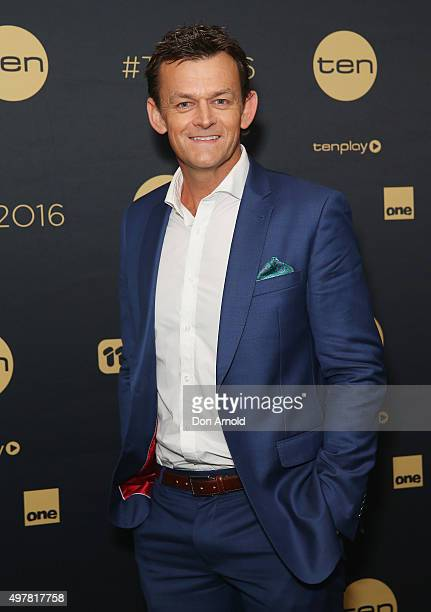 Adam Gilchrist poses at The Star during the Network 10 Content Plan 2016 event on November 19 2015 in Sydney Australia