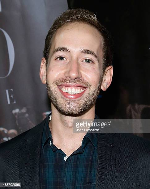 Adam Glickman attends 'Inside Amato' New York premiere at Liberty Theater on September 16 2015 in New York City