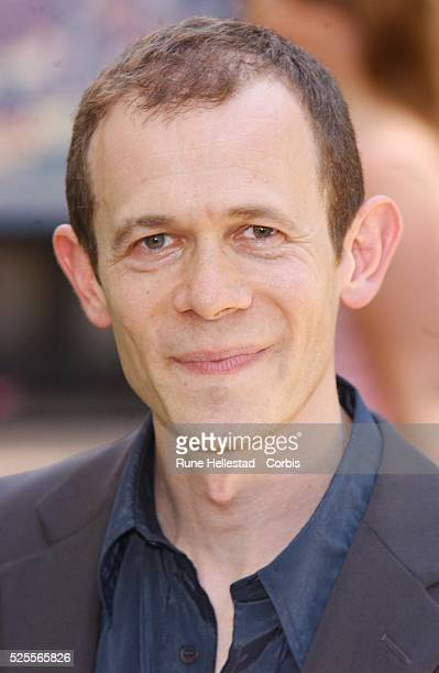 Adam Godley arrives for the premiere of Charlie and the Chocolate Factory in Leicester Square