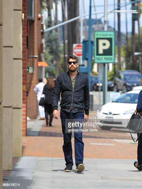 Adam Goldberg is seen on April 13 2017 in Los Angeles California