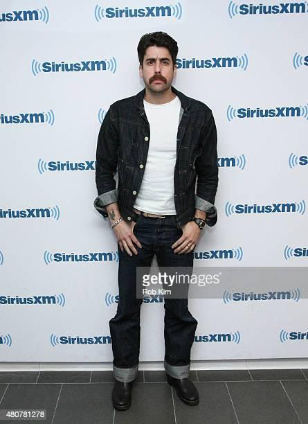 Adam Goldberg visits at SiriusXM Studios on July 15 2015 in New York City