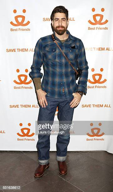 Adam Goldberg visits Best Friends Animal Society Super Adoption event at Brooklyn Expo Center on May 15 2016 in New York City