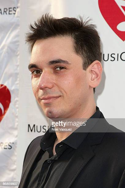 Adam Goldstein attends the 5th Annual MusiCares MAP Fund Benefit Concert at Club Nokia on May 8 2009 in Los Angeles California
