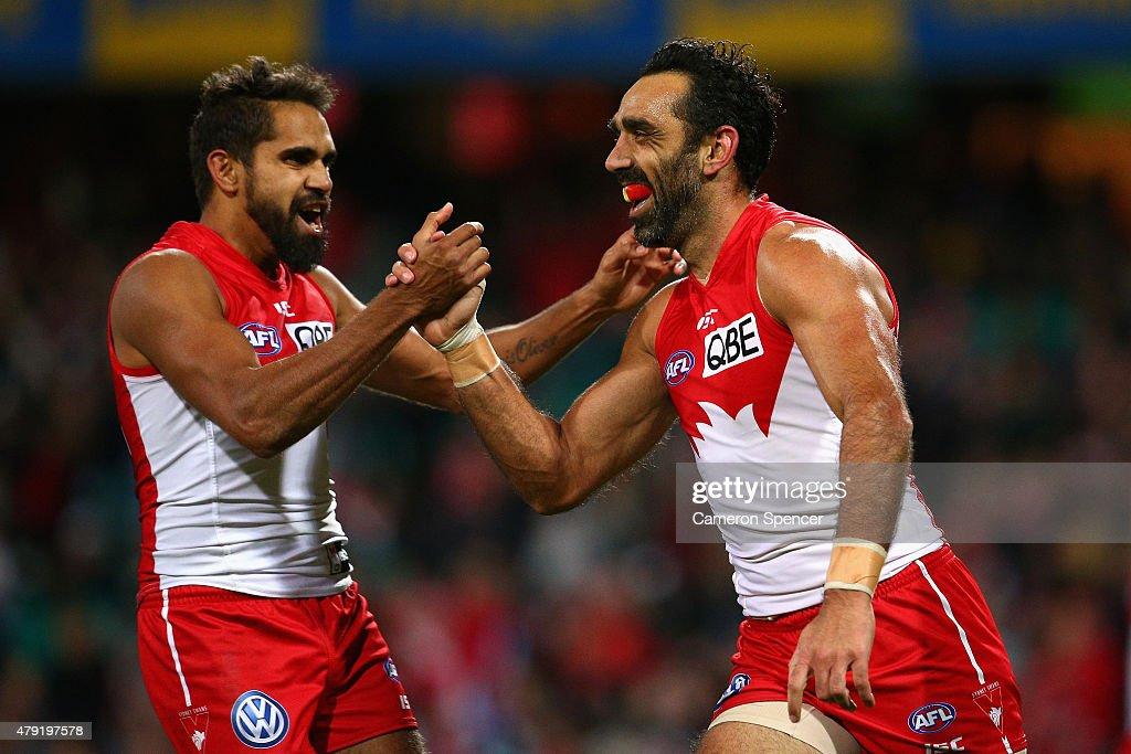 AFL Rd 14 - Sydney v Port Adelaide