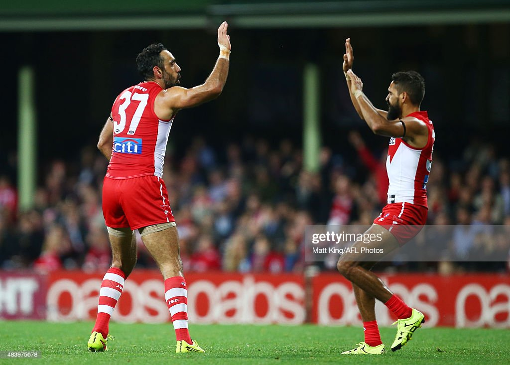 AFL Rd 20 -  Sydney Swans v Collingwood : News Photo