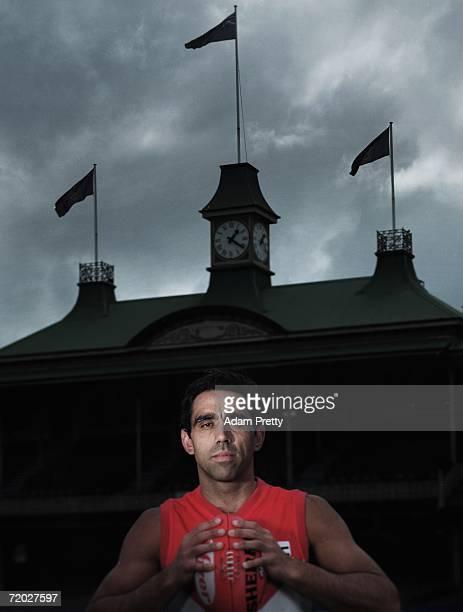 Adam Goodes of the Sydney Swans poses at the Sydney Cricket Ground September 26, 2006 in Sydney, Australia.