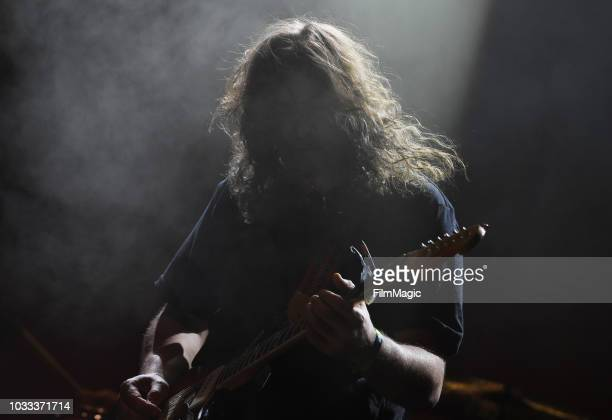 Adam Granduciel of The War On Drugs performs on the Paper Stage during day 1 of Grandoozy on September 14 2018 in Denver Colorado