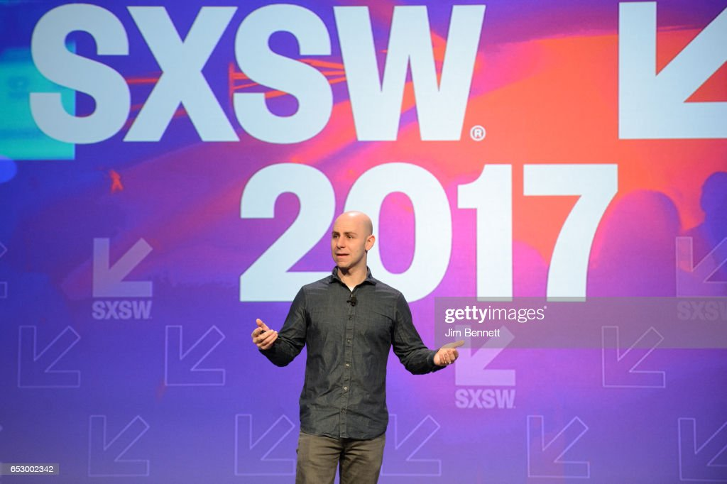 Adam Grant delivers the Interactive Keynote during the SxSW Conference at the Austin Convention Center on March 13, 2017 in Austin, Texas.