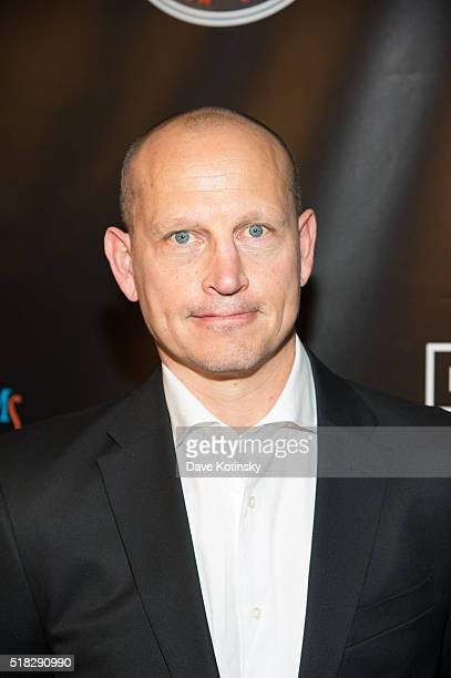 Adam Graves arrives at the 'Mike And The Mad Dog' Reunion at Radio City Music Hall on March 30 2016 in New York City