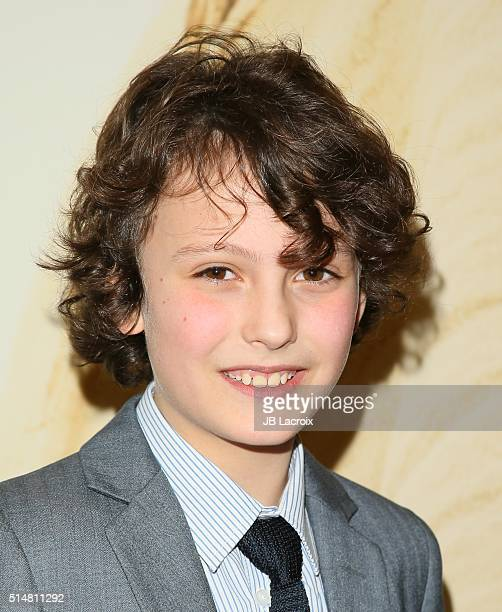 Adam Greaves Neal attends the screening of Focus Features' The Young Messiah on March 10 2016 in Los Angeles California