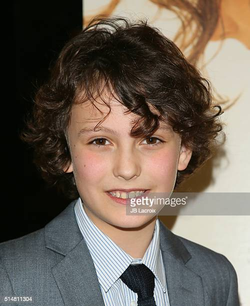 Adam Greaves Neal attends the screening of Focus Features' 'The Young Messiah' on March 10 2016 in Los Angeles California