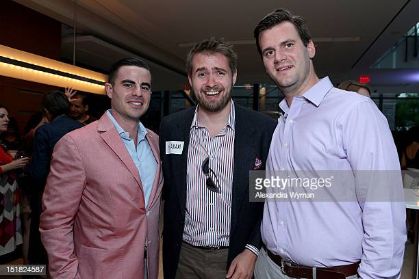 Adam Green and guests attend the FINCA Canada Fundraiser At TIFF 2012 during the Toronto International Film Festival on September 11 2012 in Toronto...
