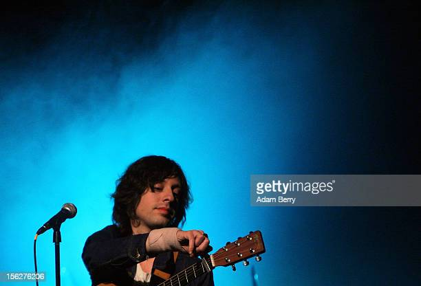 Adam Green performs in Heimathafen Neukoelln on November 12, 2012 in Berlin, Germany.