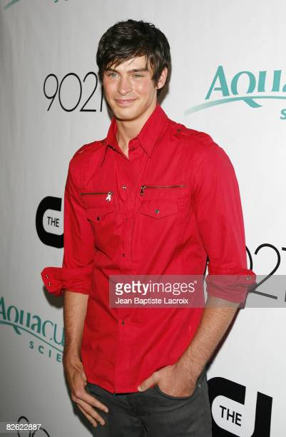 Adam Gregory attends the CW Network's 90210 Premiere Party on August 23, 2008 in Malibu, California.