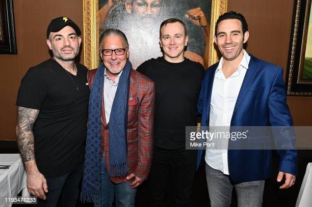 Adam Gugino Jay Abraham Sean Callagy and Jared Yellin attend an UNBLINDED Dinner Hosted By Jay Abraham Sean Callagy And Shannon O'Donnell on January...