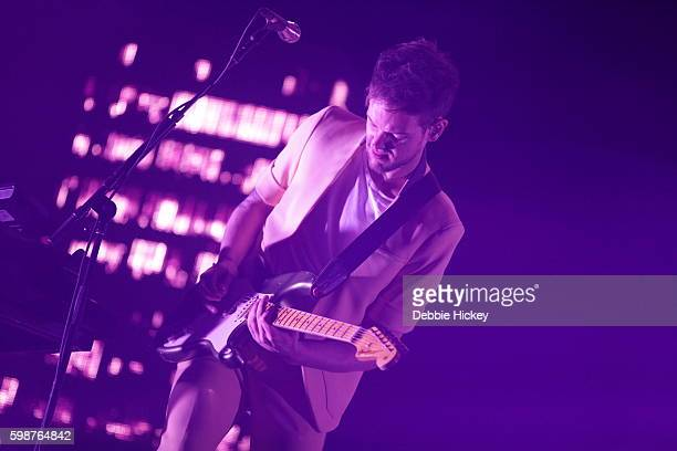 Adam Hann of The 1975 performs at Electric Picnic Festival at Stradbally Hall Estate on September 2 2016 in Laois Ireland