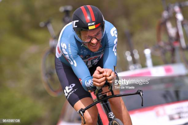 Adam Hansen of Australia and Team Lotto Soudal / during the 101th Tour of Italy 2018 Stage 1 a 97km Individual Time Trial from Jerusalem to Jerusalem...
