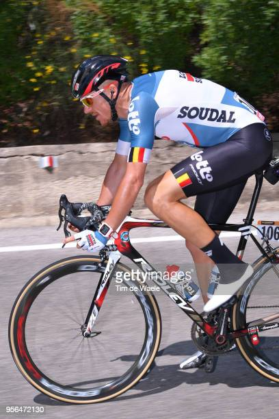 Adam Hansen of Australia and Team Lotto Soudal / during the 101th Tour of Italy 2018 Stage 5 a 153km stage from Agrigento to Santa NinfaValle del...
