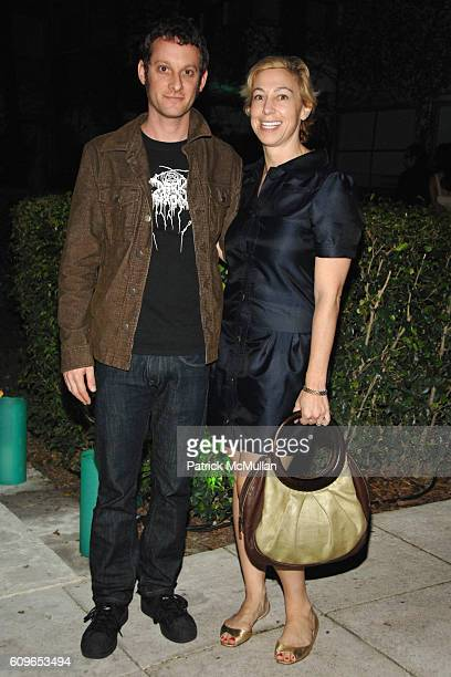 Adam Helms and Marianne Boesky attend DAVID YURMAN and THE WHITNEY MUSEUM host 'OUT OF THE ARCHIVES' at The Sagamore on December 5 2007 in Miami...
