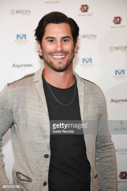 Adam Henrique attends Joe Carter Classic After Party at Ritz Carlton on June 21 2018 in Toronto Canada