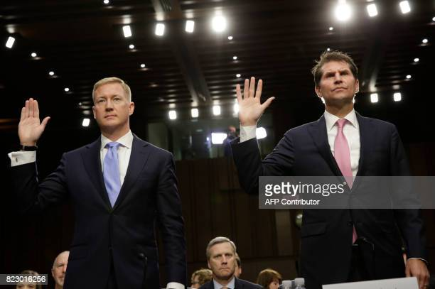 Adam Hickey deputy assistant attorney general in the National Security Division and Bill Priestap assistant director for the FBI's...