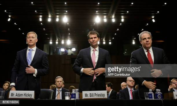 Adam Hickey deputy assistant attorney general in the National Security Division Bill Priestap assistant director for the FBI's Counterintelligence...