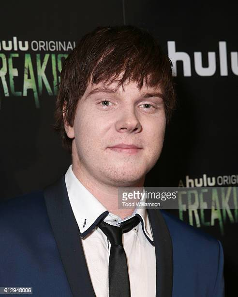 Adam Hicks attends Hulu Original 'Freakish' Premiere at Smogshoppe on October 5 2016 in Los Angeles California
