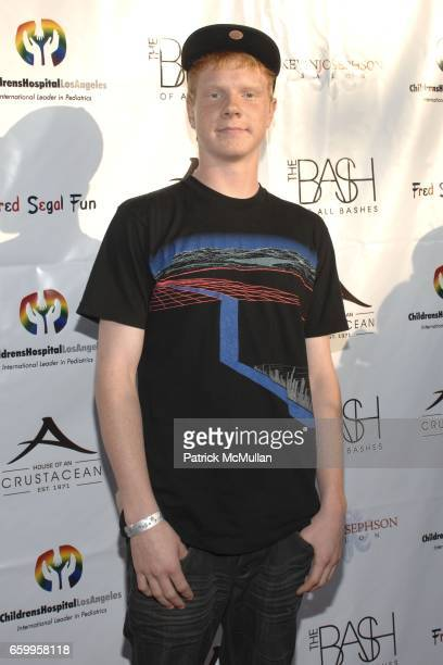 Adam Hicks attends The Bash Of All Bashes at Crustacean on May 17 2009 in Beverly Hills California