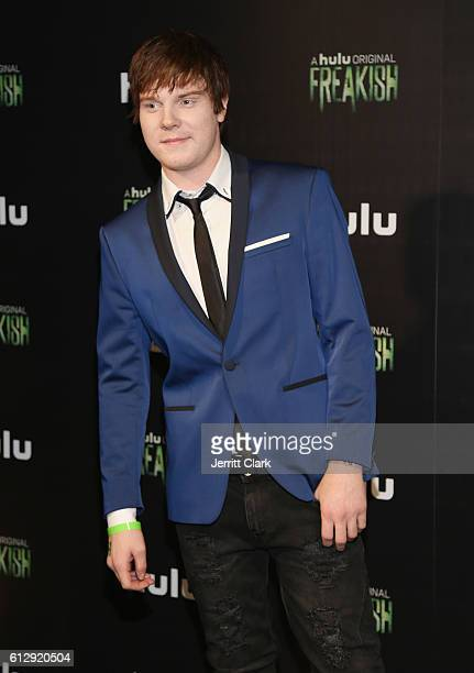 Adam Hicks attends the Premiere Of Hulu's 'Freakish' Arrivals at Smogshoppe on October 5 2016 in Los Angeles California