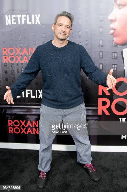 Adam Horovitz attends the 'Roxanne Roxanne' New York Premiere at SVA Theater on March 19 2018 in New York City