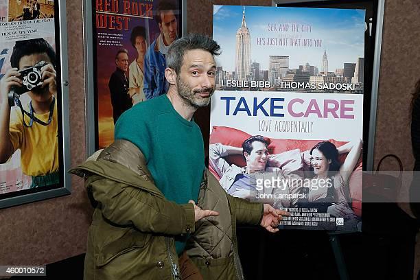 Adam Horovitz from the Beastie Boys attends Take Care New York Screening at Cinema Village on December 5 2014 in New York City