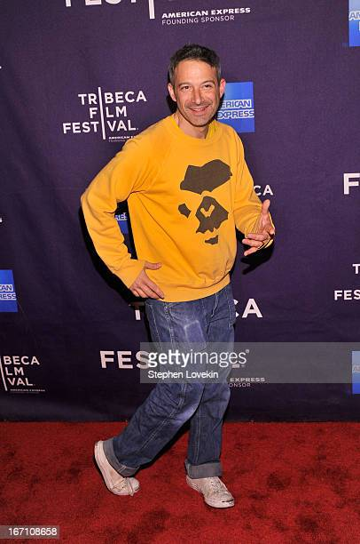 Adam Horovitz of The Beastie Boys attends the 'Teenage' world premiere during the 2013 Tribeca Film Festival on April 20 2013 in New York City