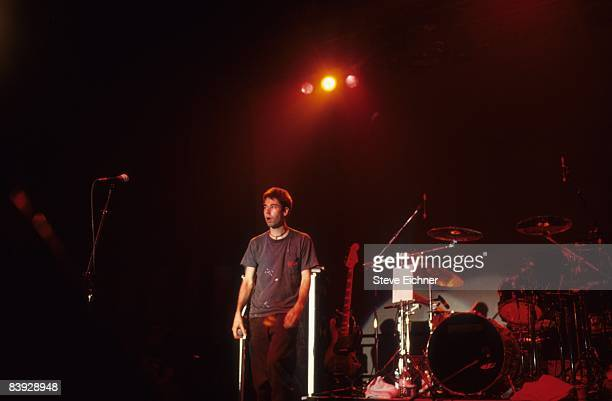 Adam Horovitz of the Beastie Boys during a concert at Roseland Ballroom in New York 1992
