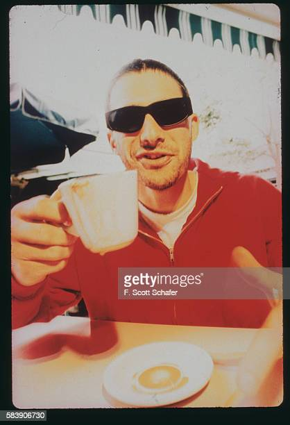 Adam Horovitz of the Beastie Boys is photographed in January 1994